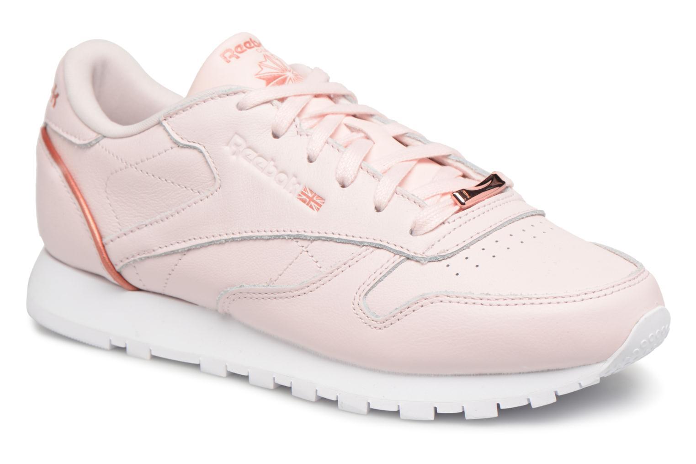 Zapatos promocionales Reebok ClassicLeather Hw (Rosa) - Deportivas   Descuento de la marca