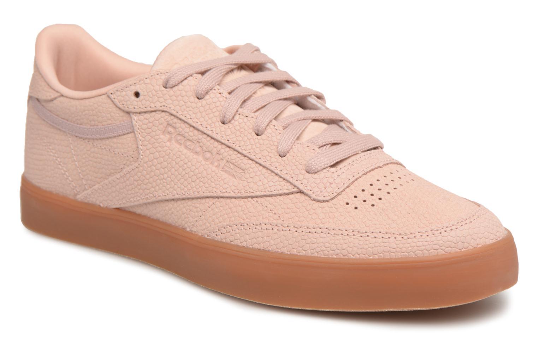 Roze Chaussures De Sport Reebok Cl Lthr Satin Wmn Reebok VTNZzbR