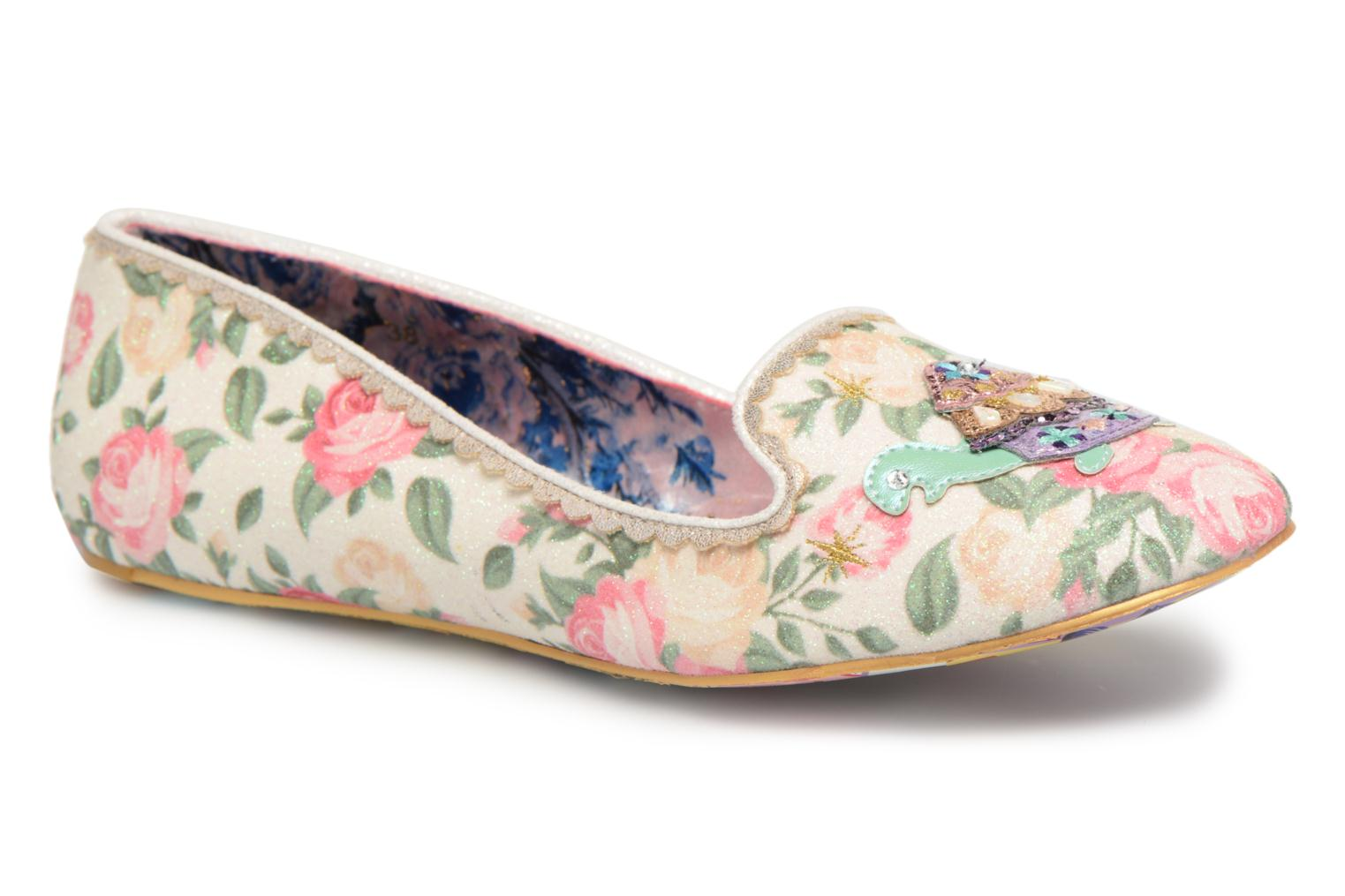 Loafers Irregular choice TESTUDO White detailed view/ Pair view