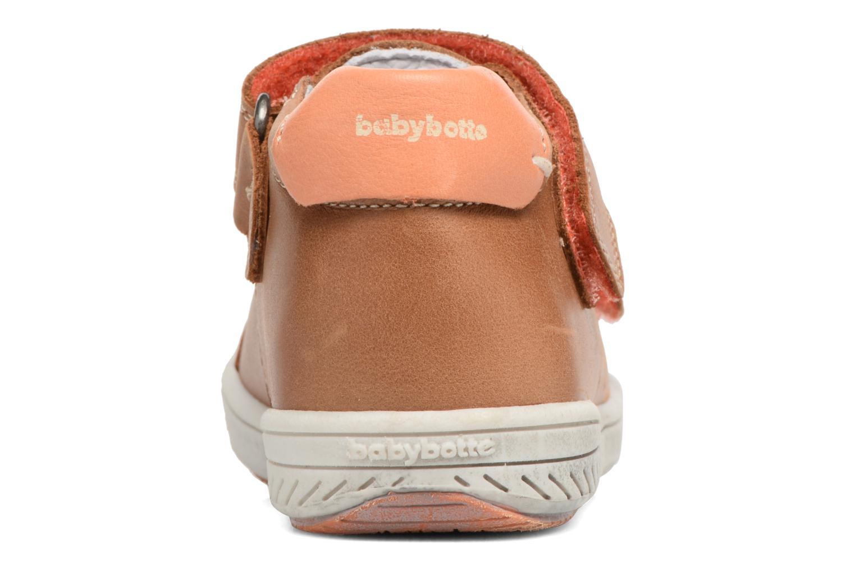 Sneakers Babybotte Sakara Bruin rechts
