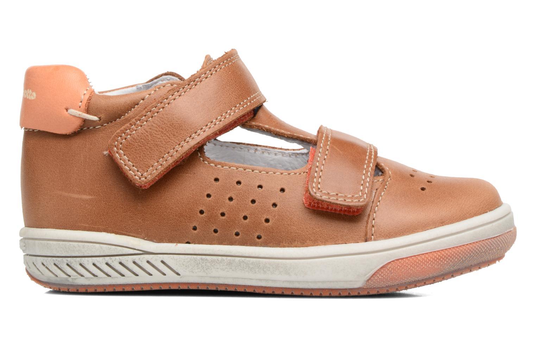 Sneakers Babybotte Sakara Bruin achterkant
