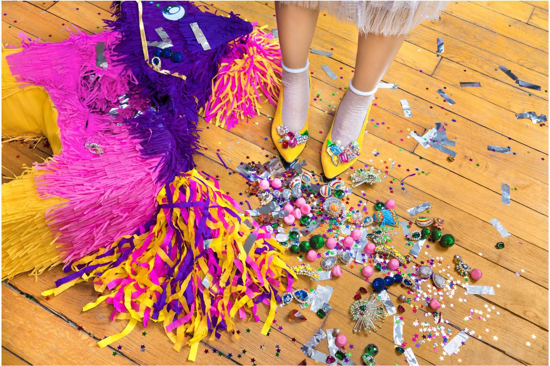 Miscellaneous Sarenza x Shourouk Sarenza x Shourouk #1 Multicolor front view