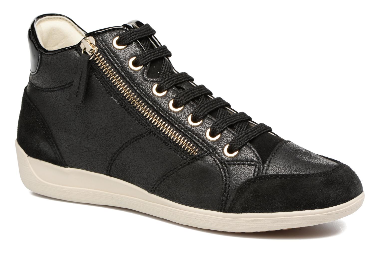 Grandes descuentos últimos zapatos Geox D MYRIA C D6468 (Negro) - Deportivas Descuento