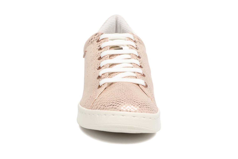 Baskets Geox D JAYSEN A -1 D621BA Or et bronze vue portées chaussures