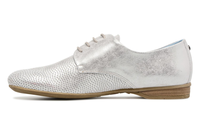 Chaussures à lacets Dorking Candy 7400 Gris vue face