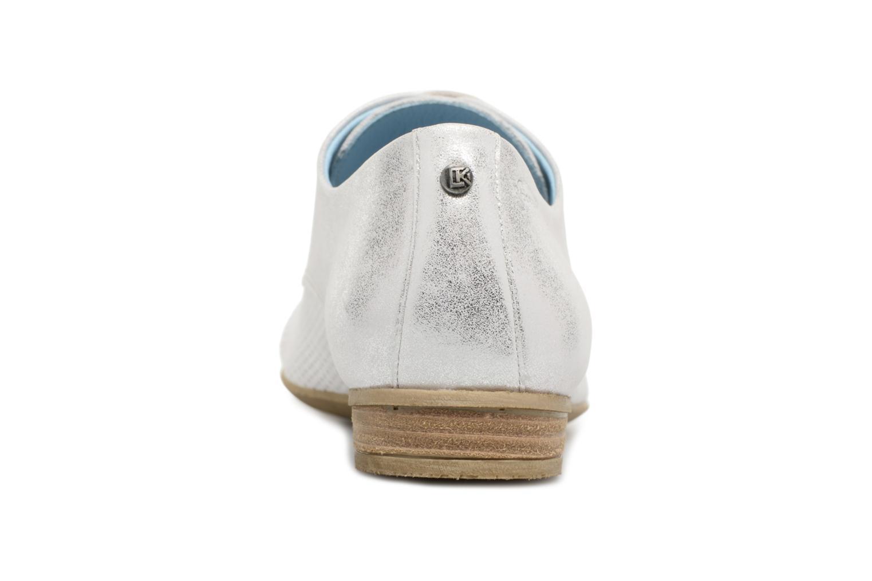 Chaussures à lacets Dorking Candy 7400 Gris vue droite