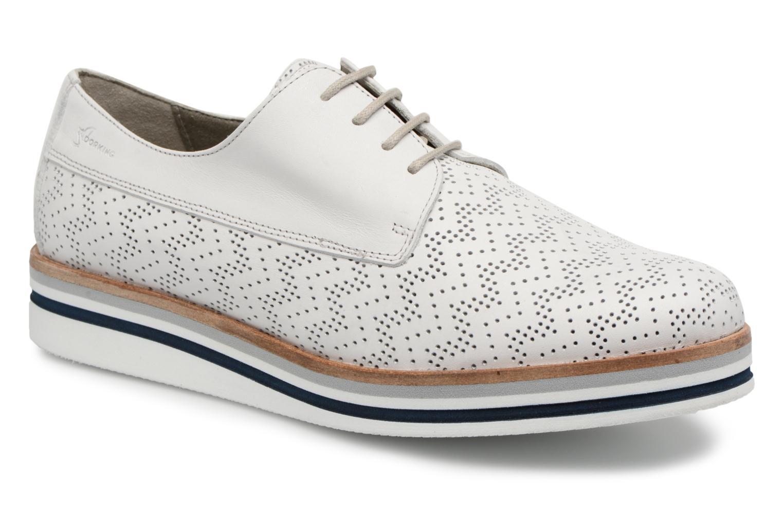 Zapatos promocionales Dorking Romy 7512 (Blanco) - Zapatos con cordones   Cómodo y bien parecido