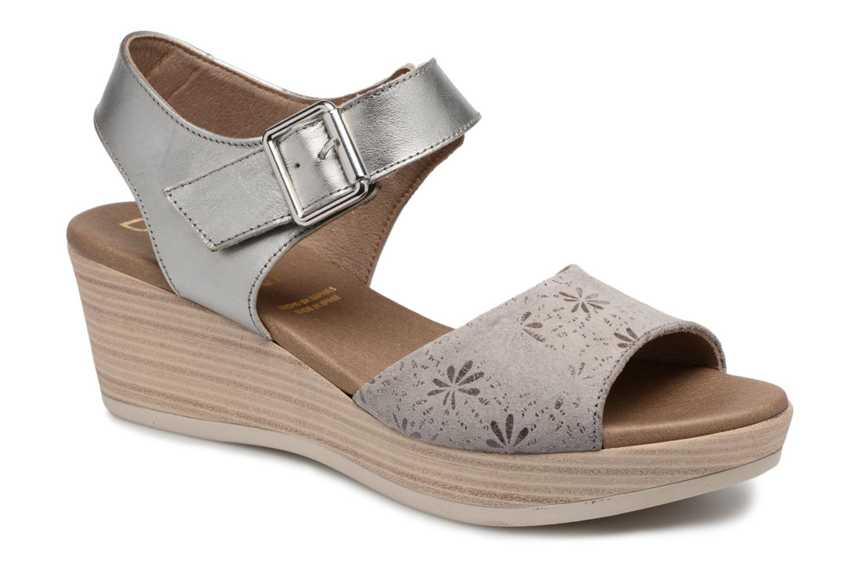 Grandes descuentos últimos zapatos Dorking Babor 7425 (Plateado) - Sandalias Descuento