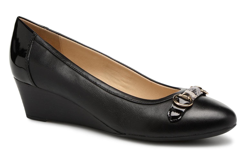 timeless design cebe0 f480a Zapatos promocionales Geox D FLORALIE C D82T4C (Negro) - Bailarinas Cómodo  y bien parecido
