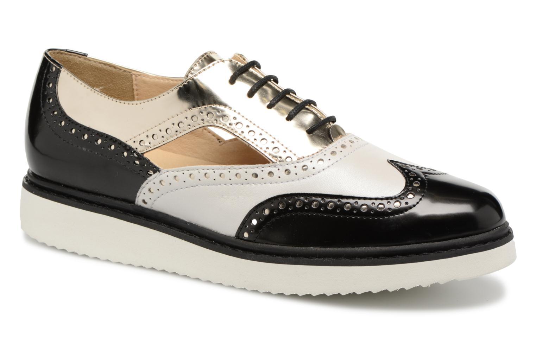 Grandes descuentos últimos zapatos Geox D THYMAR A D824BA (Negro) - Zapatos con cordones Descuento
