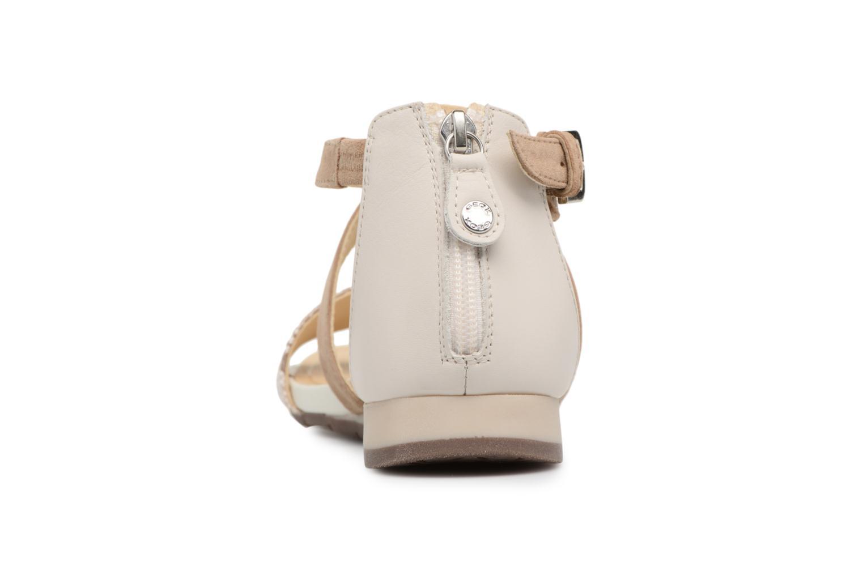 Sandales et nu-pieds Geox D FORMOSA A D8293A Beige vue droite