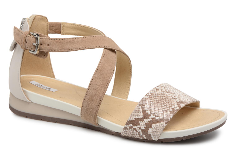 Sandales et nu-pieds Geox D FORMOSA A D8293A Beige vue détail/paire