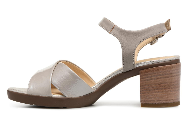 Sandali e scarpe aperte Geox D ANNYA M.S. C D827XC Grigio immagine frontale