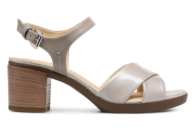 Sandali e scarpe aperte Geox D ANNYA M.S. C D827XC Grigio immagine posteriore