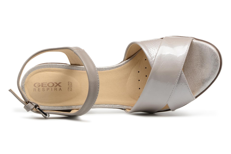 Sandali e scarpe aperte Geox D ANNYA M.S. C D827XC Grigio immagine sinistra