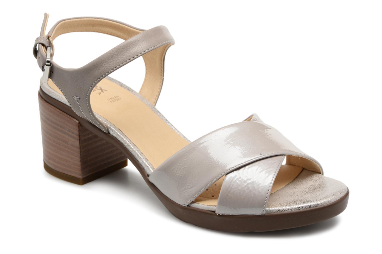 Grandes descuentos últimos zapatos Geox D ANNYA M.S. C D827XC (Gris) - Sandalias Descuento