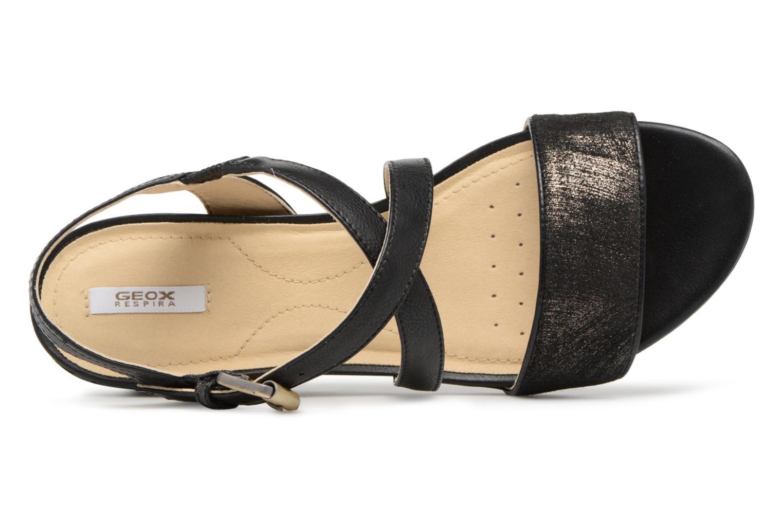 Zapatos promocionales Geox D MARYKARMEN A D828QA (Negro) - - - Sandalias   Cómodo y bien parecido ce647d
