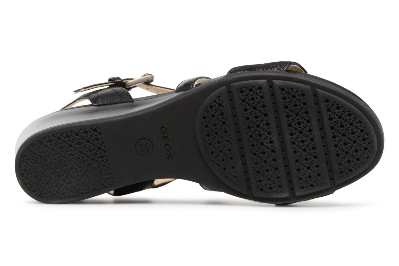 Zapatos promocionales Geox D MARYKARMEN A D828QA (Negro) - Sandalias   Cómodo y bien parecido