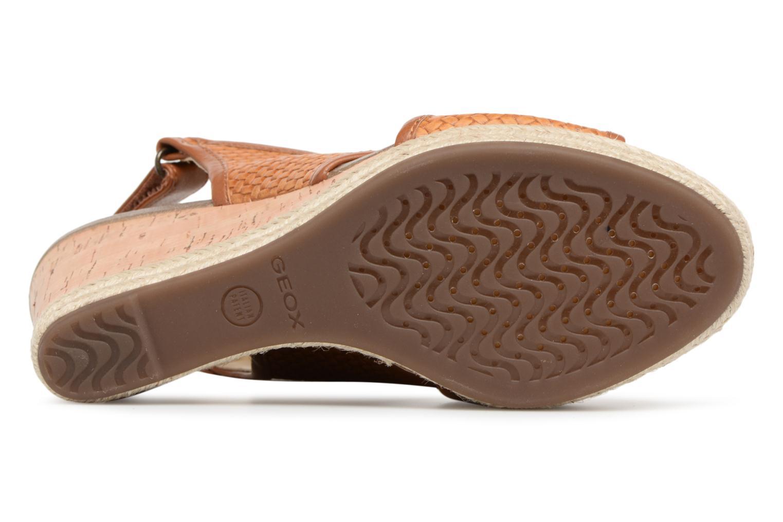 Gran descuento Geox D JANIRA C D82P6C (Marrón) - Sandalias en Más cómodo