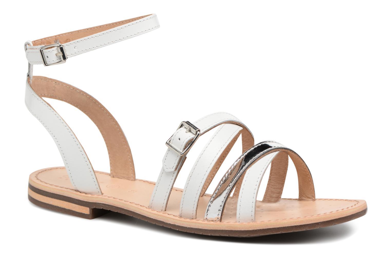 Los zapatos más populares para hombres y mujeres Geox D SOZY B D822CB (Blanco) - Sandalias en Más cómodo