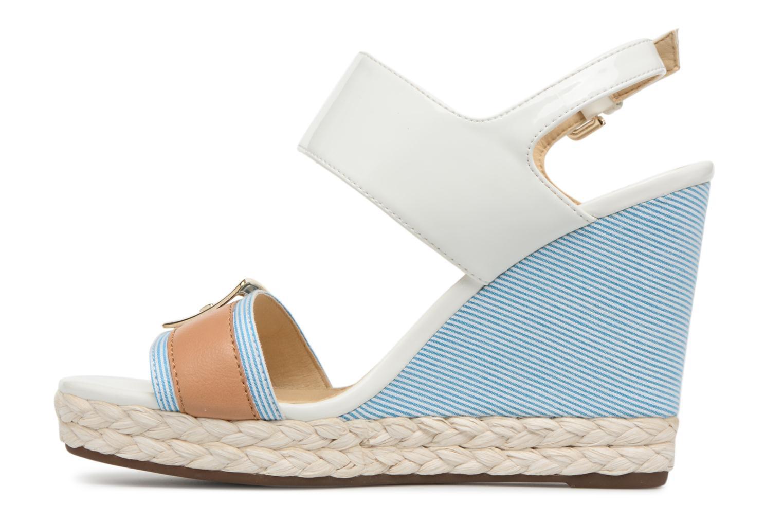 Sandales et nu-pieds Geox D JANIRA E D82P6E Blanc vue face