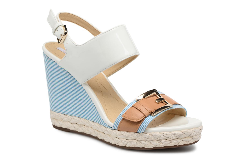 Sandali e scarpe aperte Geox D JANIRA E D82P6E Bianco vedi dettaglio/paio
