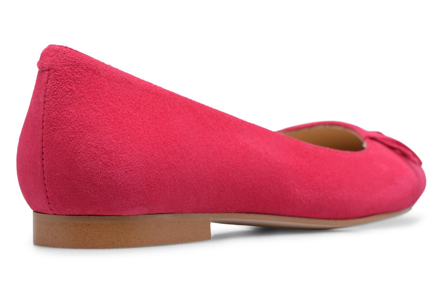 Ballet pumps Made by SARENZA Bombay Babes Ballerines #1 Pink front view