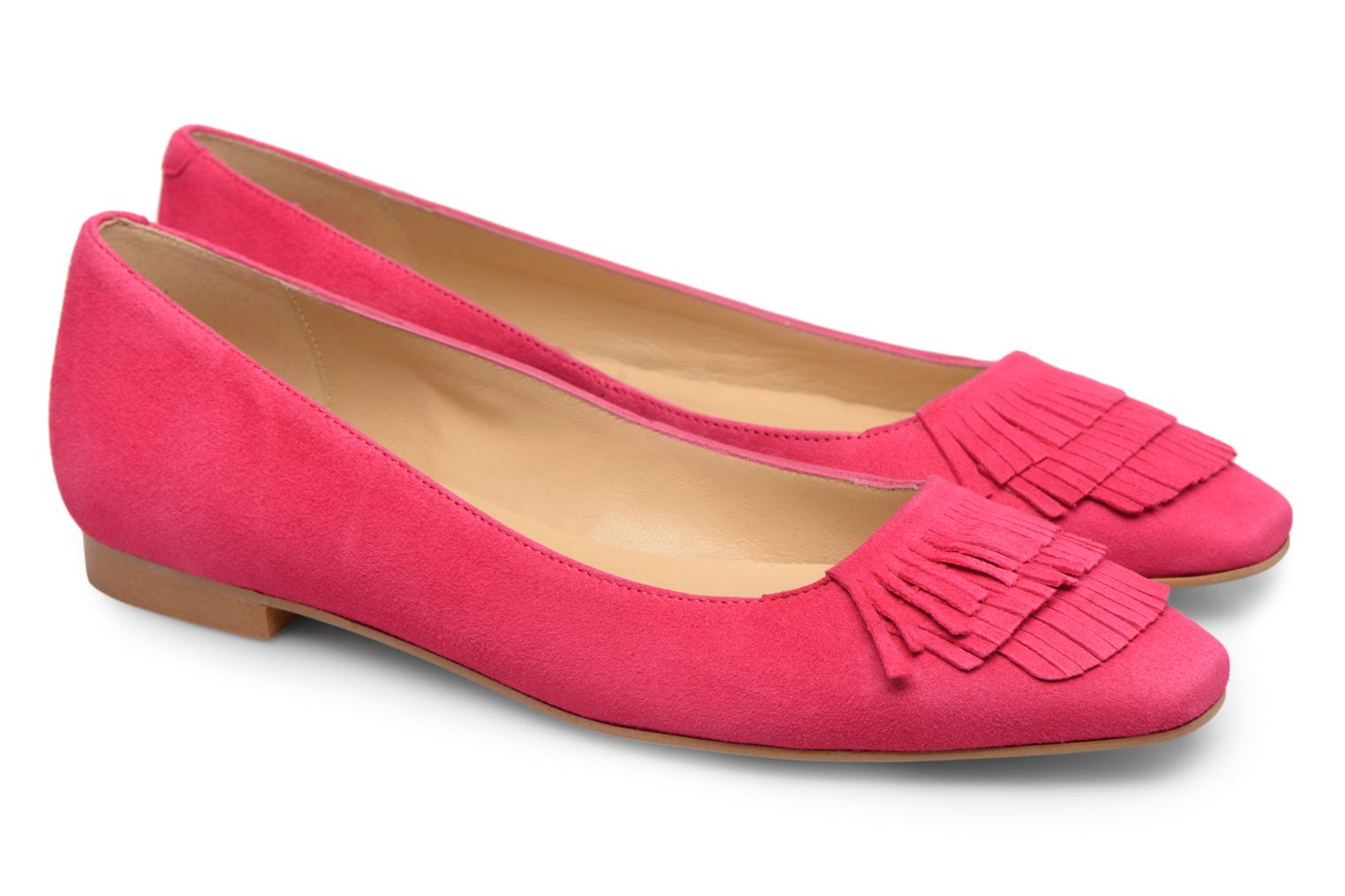 Ballet pumps Made by SARENZA Bombay Babes Ballerines #1 Pink back view
