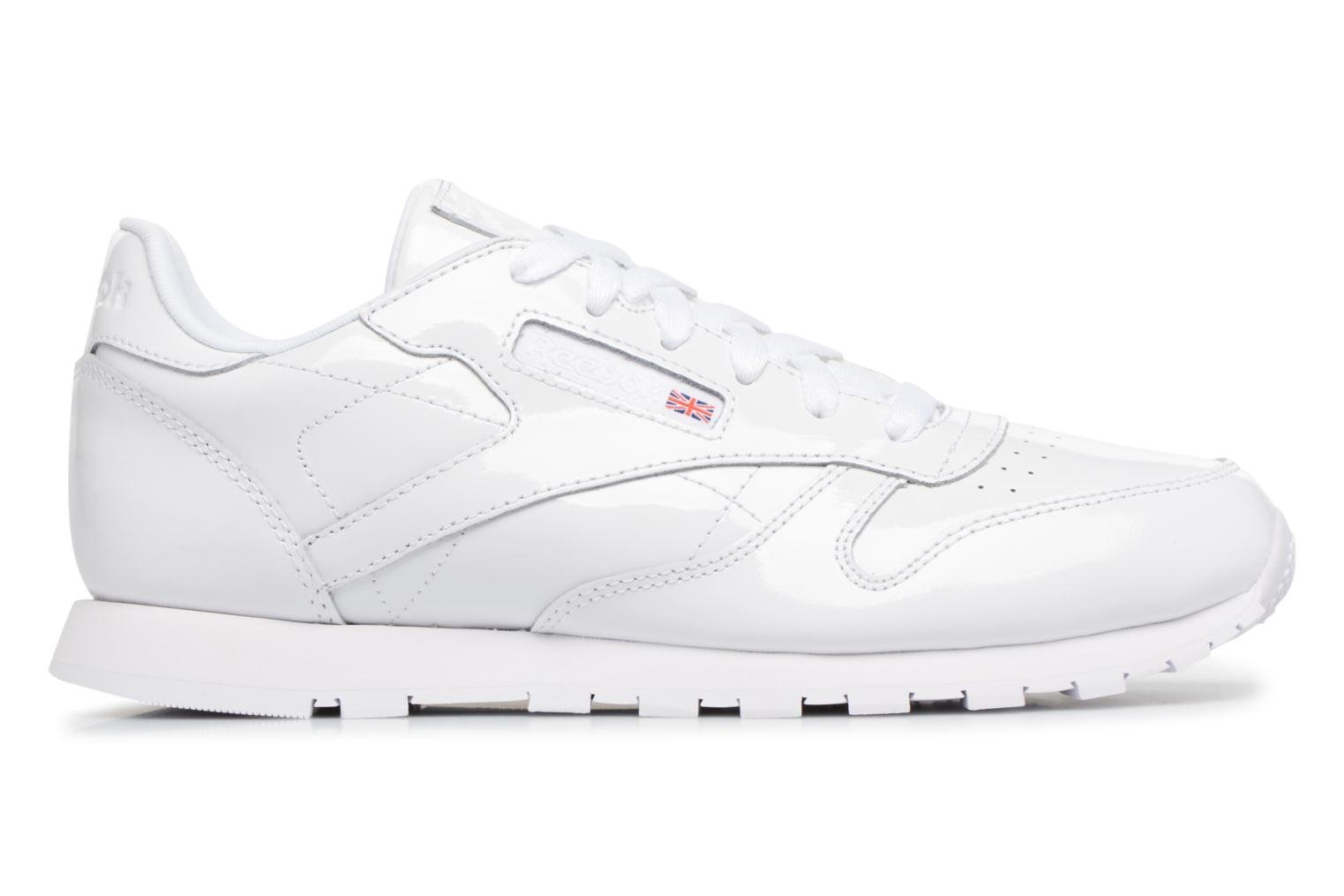 Classic Leather Patent J White