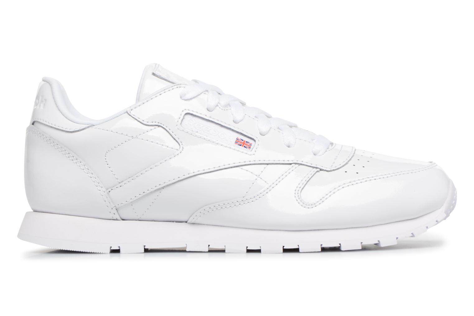 Sneakers Reebok Classic Leather Patent J Wit achterkant
