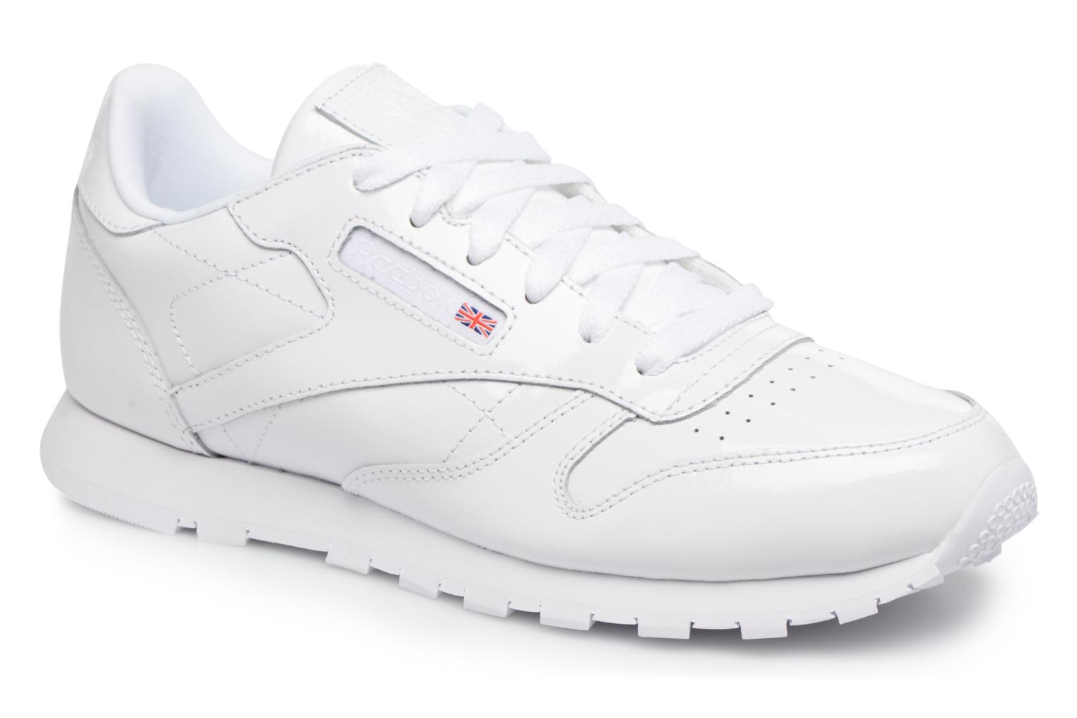 Sneakers Reebok Classic Leather Patent J Wit detail