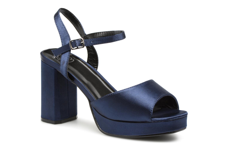 Marques Chaussure femme I Love Shoes femme LAPAIX Black Suedine