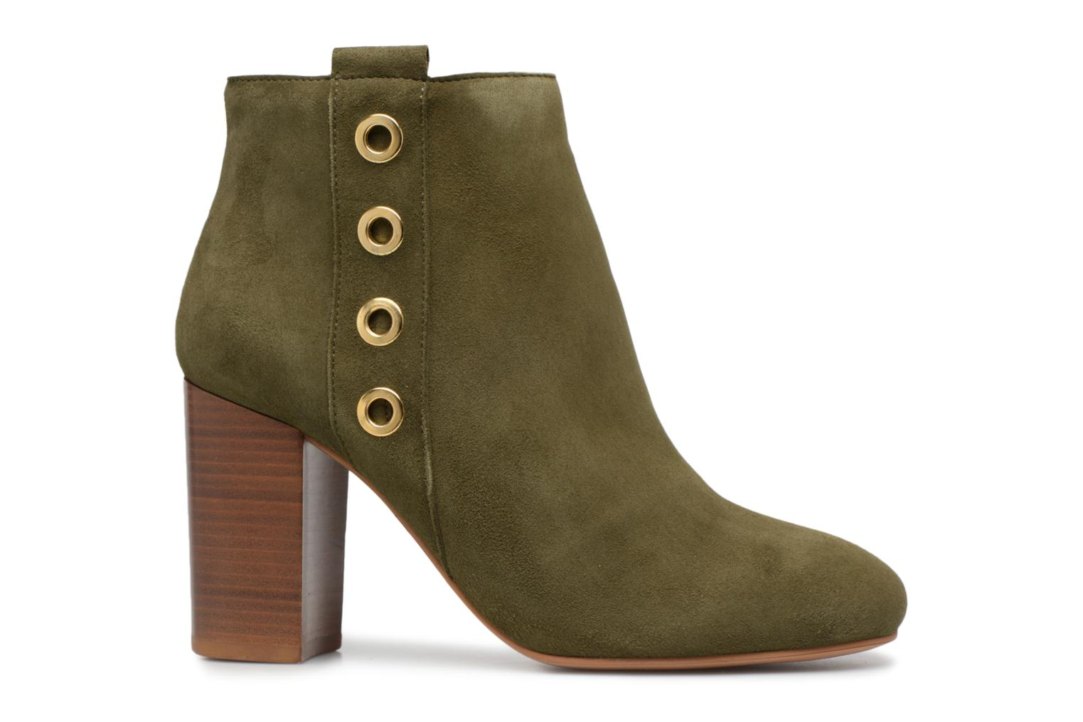Marques Chaussure femme Made by SARENZA femme 90's Girls Gang Boots #2 Cuir Velours kaki