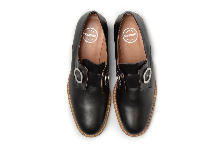 Mocassins Made by SARENZA 90's Girls Gang Chaussures à Lacets #2 Noir vue portées chaussures