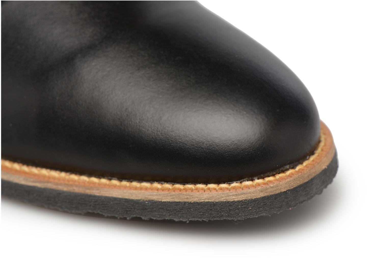 Mocassins Made by SARENZA 90's Girls Gang Chaussures à Lacets #2 Noir vue gauche
