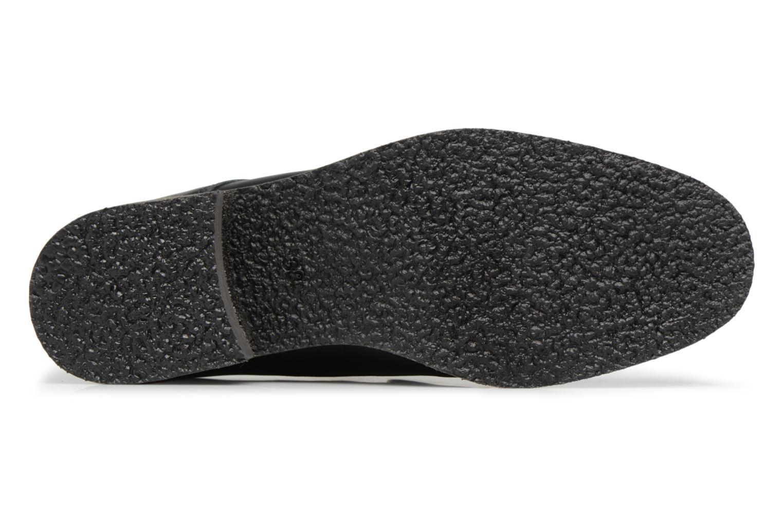 Mocassins Made by SARENZA 90's Girls Gang Chaussures à Lacets #2 Noir vue haut