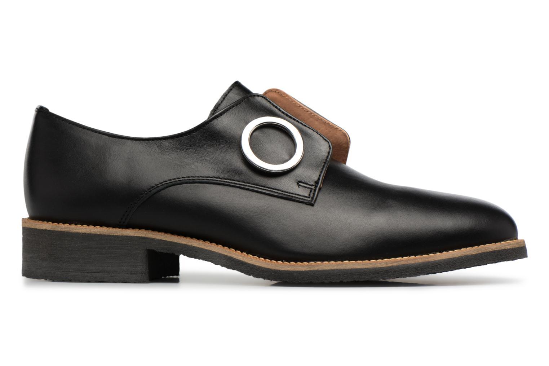 90's Girls Gang Chaussures à Lacets #2 Cuir Lisse Noir