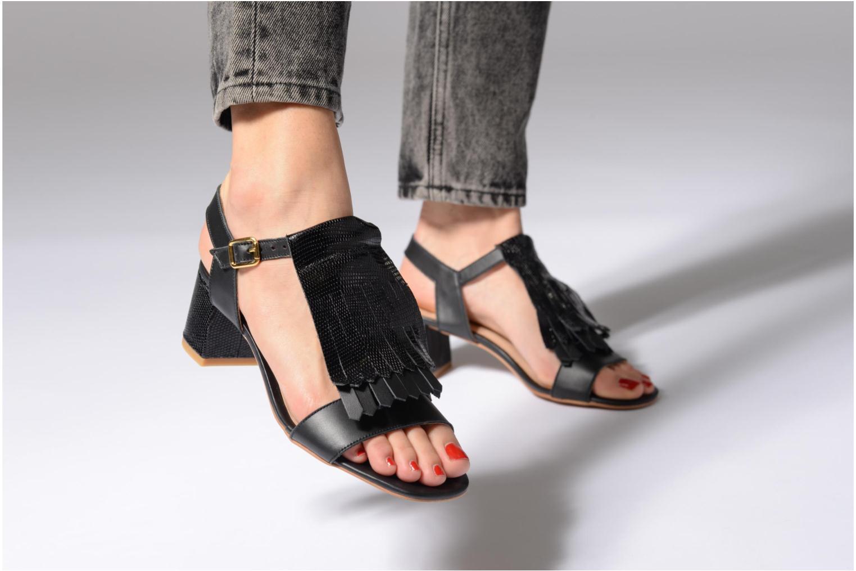 Sandales et nu-pieds Made by SARENZA Carioca Crew Sandales à Talons #2 Vert vue bas / vue portée sac
