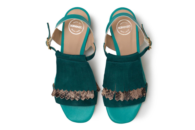 Sandales et nu-pieds Made by SARENZA Carioca Crew Sandales à Talons #2 Vert vue portées chaussures
