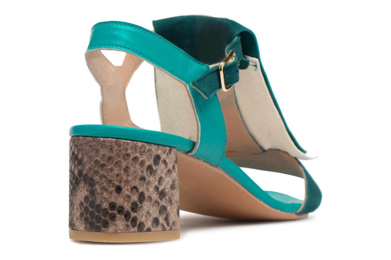 Sandales et nu-pieds Made by SARENZA Carioca Crew Sandales à Talons #2 Vert vue face