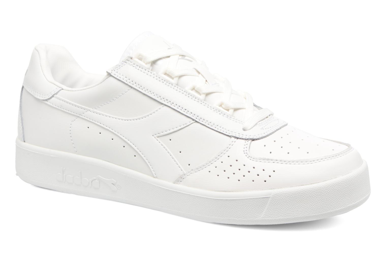 B.elite L Wn - Chaussures De Sport Pour Les Hommes / Diadora Blanc TBFHj4