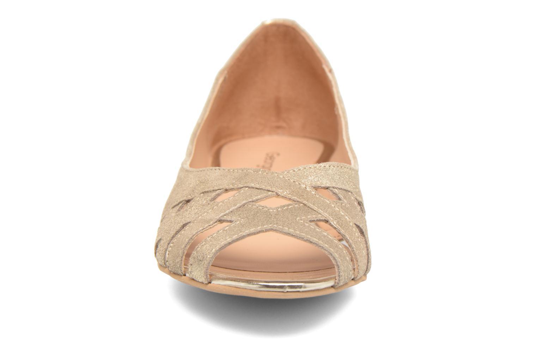 Ballerines Georgia Rose Cordou Or et bronze vue portées chaussures