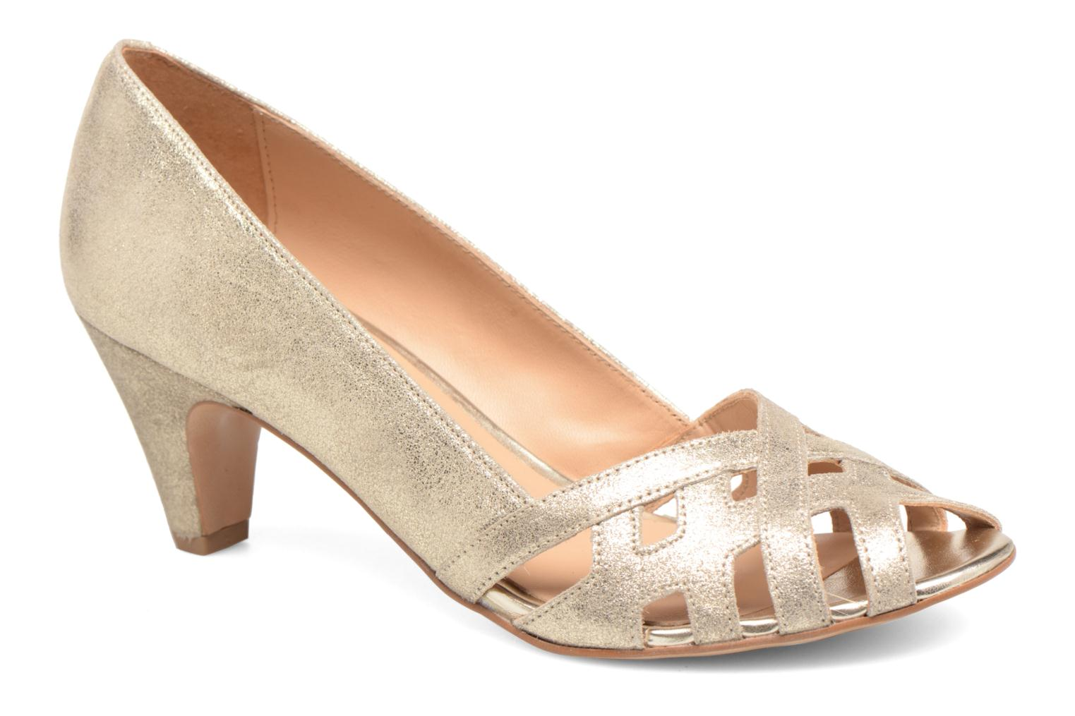 Pumps Georgia Rose Cordova Goud en brons detail