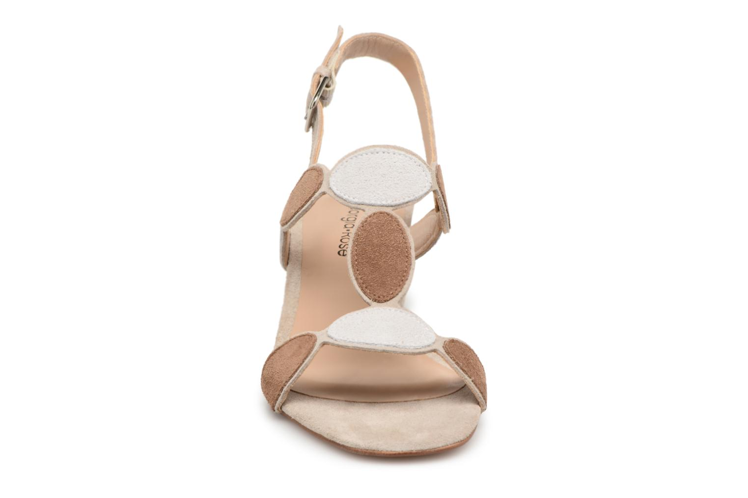Sandals Georgia Rose Covala Beige model view