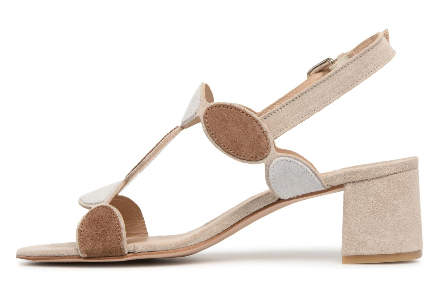 Sandals Georgia Rose Covala Beige front view