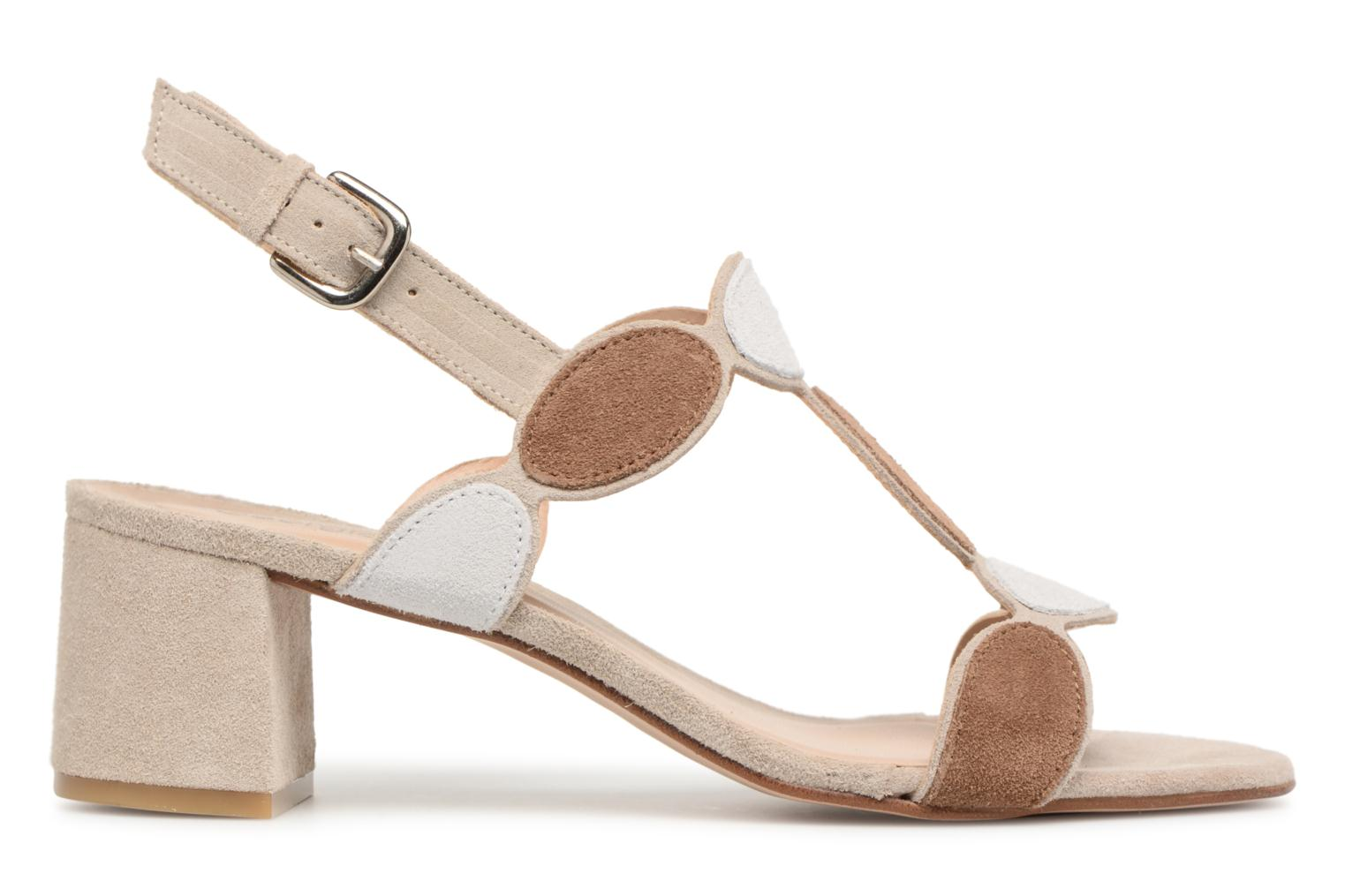 Sandals Georgia Rose Covala Beige back view