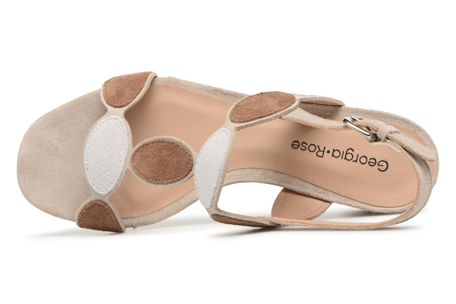 Sandals Georgia Rose Covala Beige view from the left