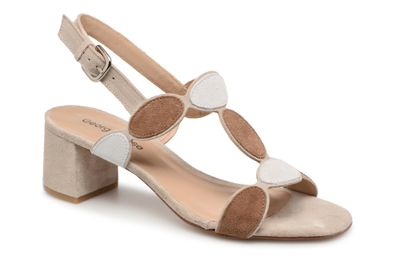 Sandals Georgia Rose Covala Beige detailed view/ Pair view