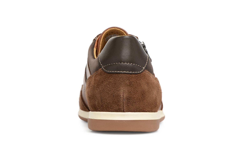 Sneakers Geox U RENAN C U824GC Bruin rechts