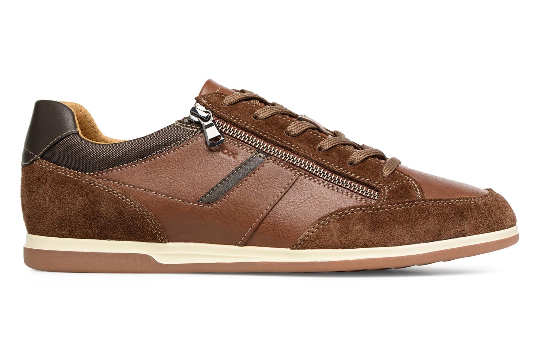 Sneakers Geox U RENAN C U824GC Bruin achterkant